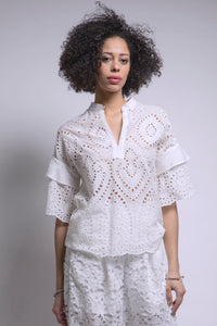 Made in New York Lace Tunic Style #215