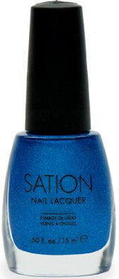 Sation Electric Blue Nail Polish 1059