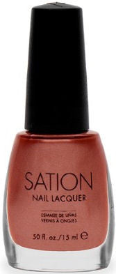 Sation Shiny Brown Nail Polish 1075