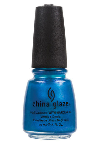 China Glaze Blue Iguana Nail Polish 963