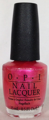 OPI Can't Hear Myself Pink! Nail Polish A72