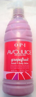 OPI Avojuice Grapefruit Lotion AV916 - 20 Fl Oz