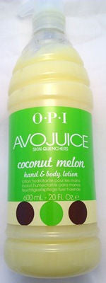 OPI Avojuice Coconut Melon Lotion AV986 20 Fl Oz