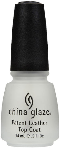 China Glaze Treatment Patent Leather Top Coat Nail Polish 88915