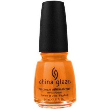 China Glaze Code Orange Nail Polish 680