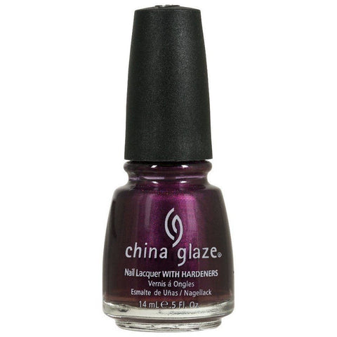 China Glaze Don't Make Me Wine Nail Polish 1233