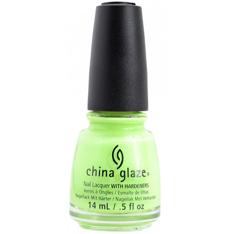 China Glaze Grass is Lime-greener Nail Polish 1300