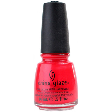 China Glaze Haiwaiian Punch Nail Polish 17