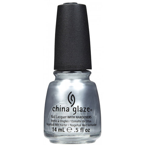 China Glaze Platinum Silver Nail Polish 627