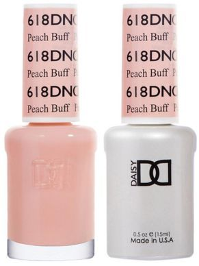 DND Gel Duo Peach Buff Polish D618