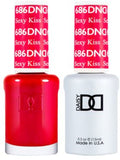 DND Gel Duo Sexy Kiss Polish D686