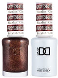 DND Gel Duo Sizzlin Cinnamon Polish D697