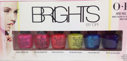 OPI 2015 Brights Mini Pack Nail Polish DDA08