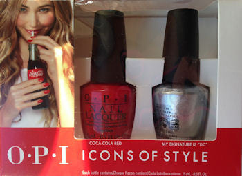 OPI Icons Of Style Duo Pack Nail Polish DDC10