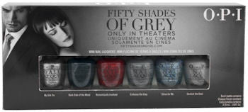 OPI Fifty Shades Of Grey Mini Nail Polish Set DDF06