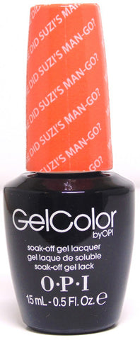 OPI Where Did Suzi's Man-go? Gel Nail Polish GCA66