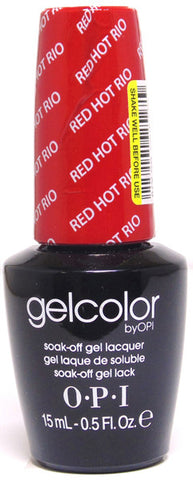 OPI Red Hot Rio Gel Nail Polish GCA70