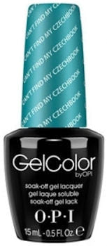 OPI Can't Fine My Czechbook Gel Nail Polish GCE75