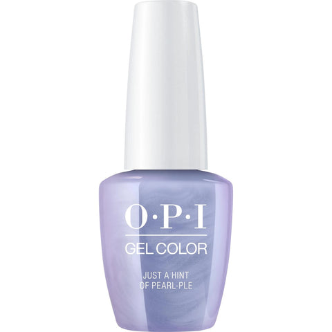 OPI Just a Hint of Pearl-ple Gel Nail Polish GCE97