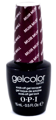 OPI Muir Muir On The Wall Gel Nail Polish GCF61