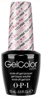 OPI You Pink Too Much Gel Nail Polish GCG03
