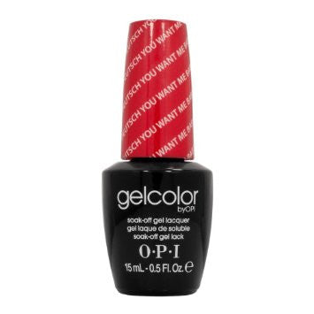 OPI Deutsch You Want Me Baby? Gel Nail Polish GCG15