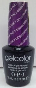 OPI Suzi & the 7 Dusseldorts Gel Nail Polish GCG23