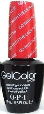 OPI Go with the Lava Flow Gel Nail Polish GCH69