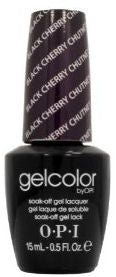 OPI Black Cherry Chutney Gel Nail Polish GCI43