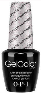 OPI Let's Do Anything We Want Gel Nail Polish GCM78