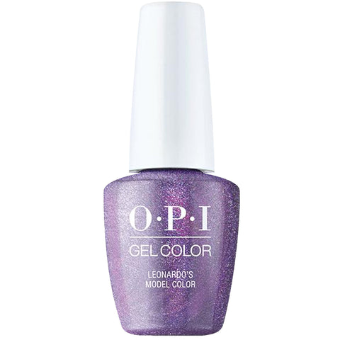 OPI Leonardo's Model Color Nails Gel Nail Polish GCMI11