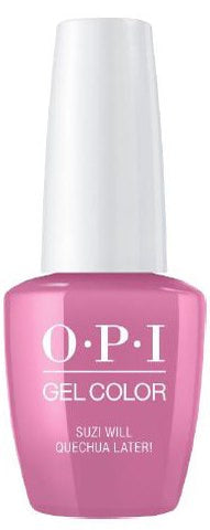 OPI Suzi Will Quechua Later! Gel Nail Polish GCP31