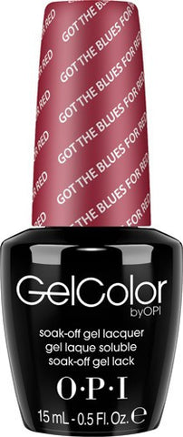OPI Got the Blues For Red Gel Nail Polish GCW52
