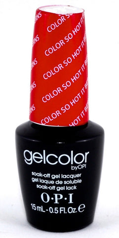 OPI Color So Hot It Berns Gel Nail Polish GCZ13