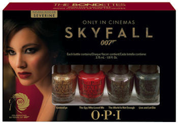 OPI Skyfall Bond-ettes Mini Set Nail Polish HLD43 (Discontinued by OPI)