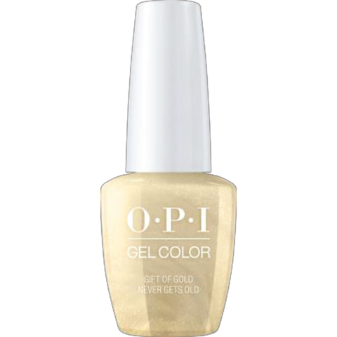 OPI Gift of Gold Never Gets Old Gel Nail Polish HPJ12