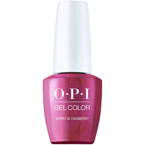 OPI Merry In Cranberry Gel Nail Polish HPM07