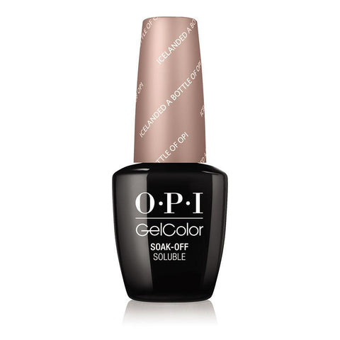 OPI Icelanded a Bottle of  OPI Gel Nail Polish GCI53