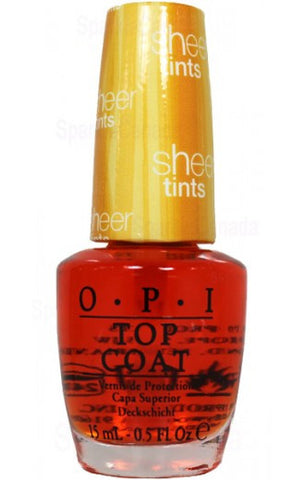 OPI I'm Never Amberrassed Nail Polish NTS01
