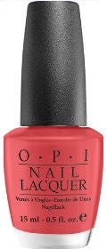 OPI Paint My Moji Toes Red Nail Polish B75 (Discontinued by OPI)