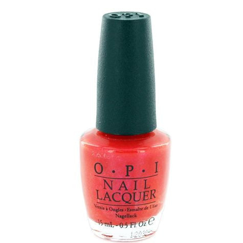 OPI Conga-Line Coral Nail Polish B81 (Discontinued by OPI)