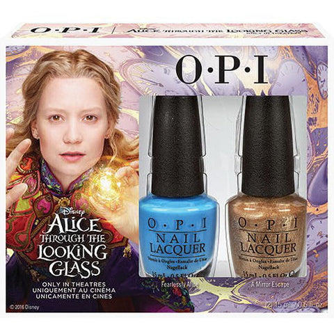 OPI Alice Through the Looking Glass Duo Nail Polish Set DDA13
