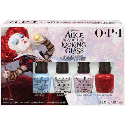 OPI Alice Through the Looking Glass Mini Nail Polish Set DDA15