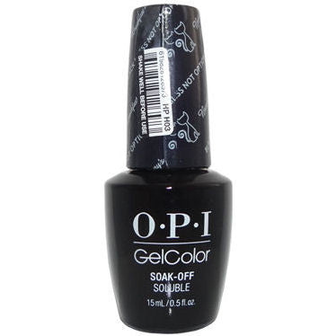 OPI Black Dress Not Optional Gel Nail Polish HPH03