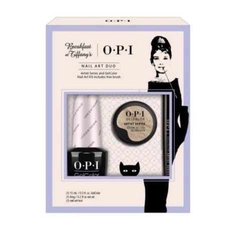 OPI Breakfast at Tiffany's Gel Nail Artist Series Set HPH35