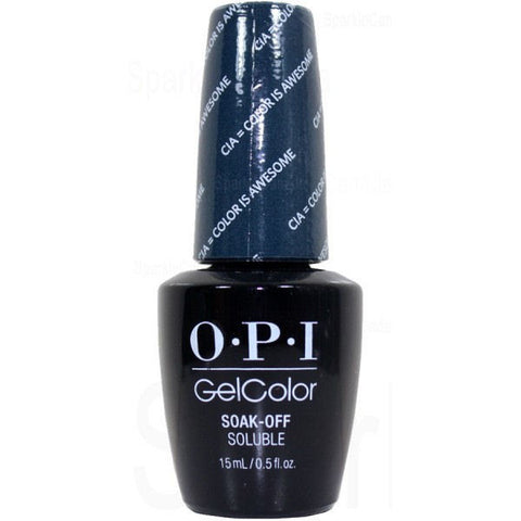 OPI CIA Color Is Awesome Gel Nail Polish GCW53