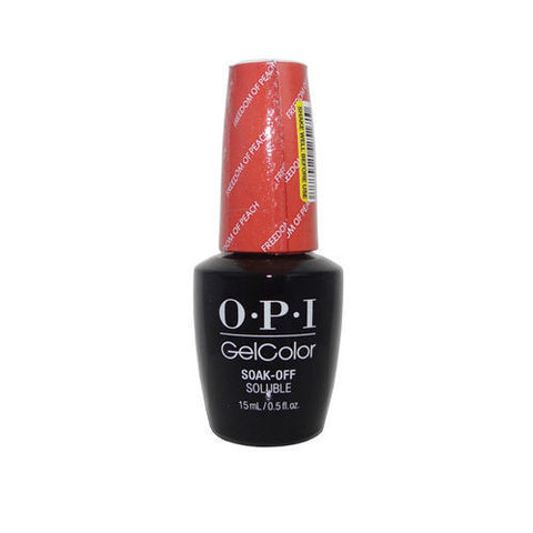 OPI Freedom of Peach Gel Nail Polish GCW59