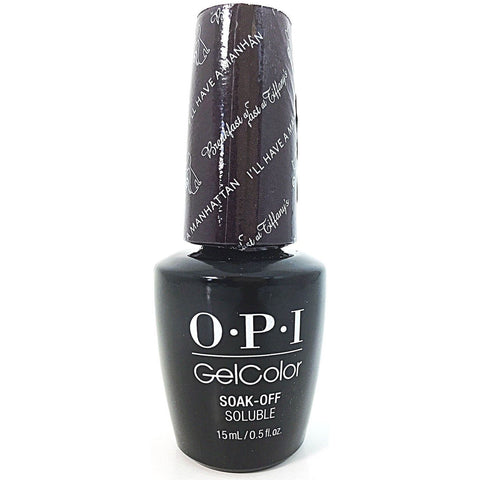 OPI I'll Have A Manhattan Gel Nail Polish HPH14
