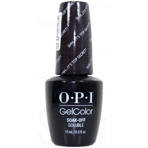 OPI Shh...It's Top Secret! Gel Nail Polish GCW61