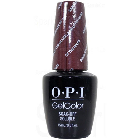 OPI Squeaker of the House Gel Nail Polish GCW60